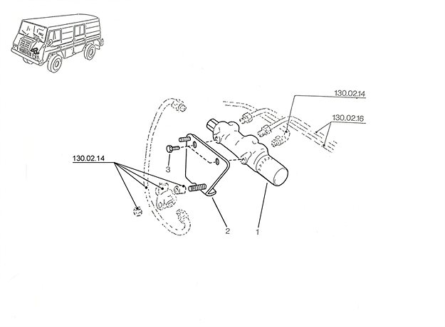 Bremskraftregler A, B