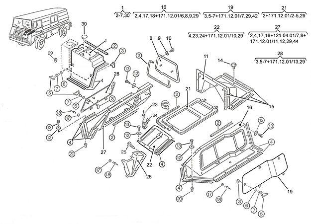 Motor & Getriebeverkleidung