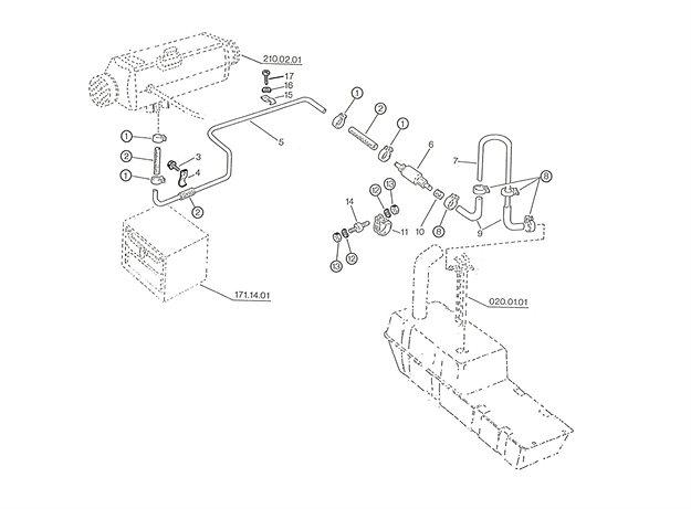Kraftstoffanlage A, C, F
