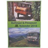 Haflinger - Pinzgauer Kalender 2018
