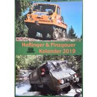 Haflinger - Pinzgauer Kalender 2019