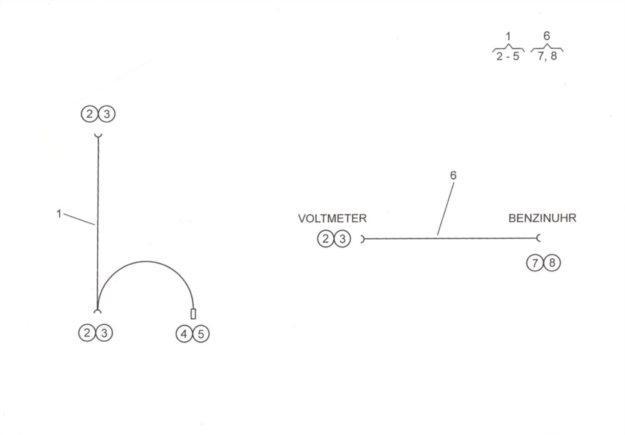 Leitungssatz Voltmeter LFAL